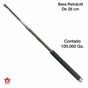Bastón retráctil defensa personal de 26 cm