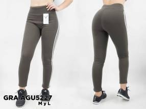 Pantalón calza frizado GRA AGU5227
