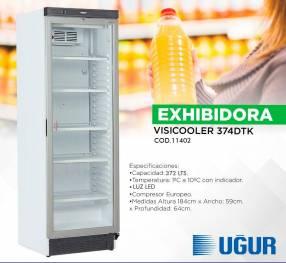 Exhibidora Ugur 374 litros