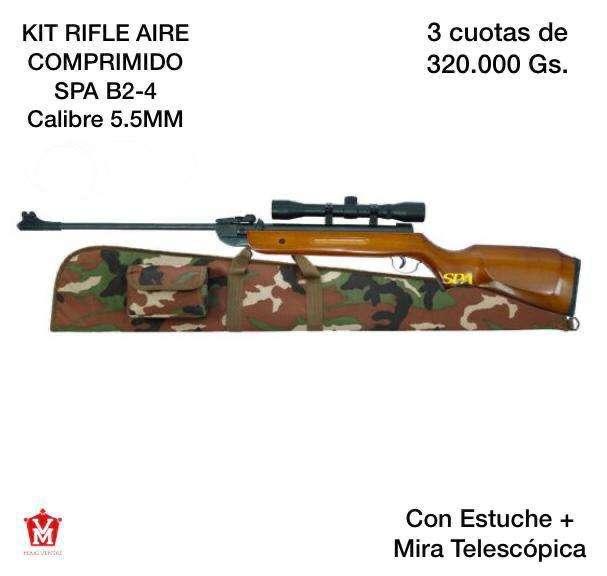 Kit rifle B3-2 aire comprimido 5.5 estuche con mira - 0