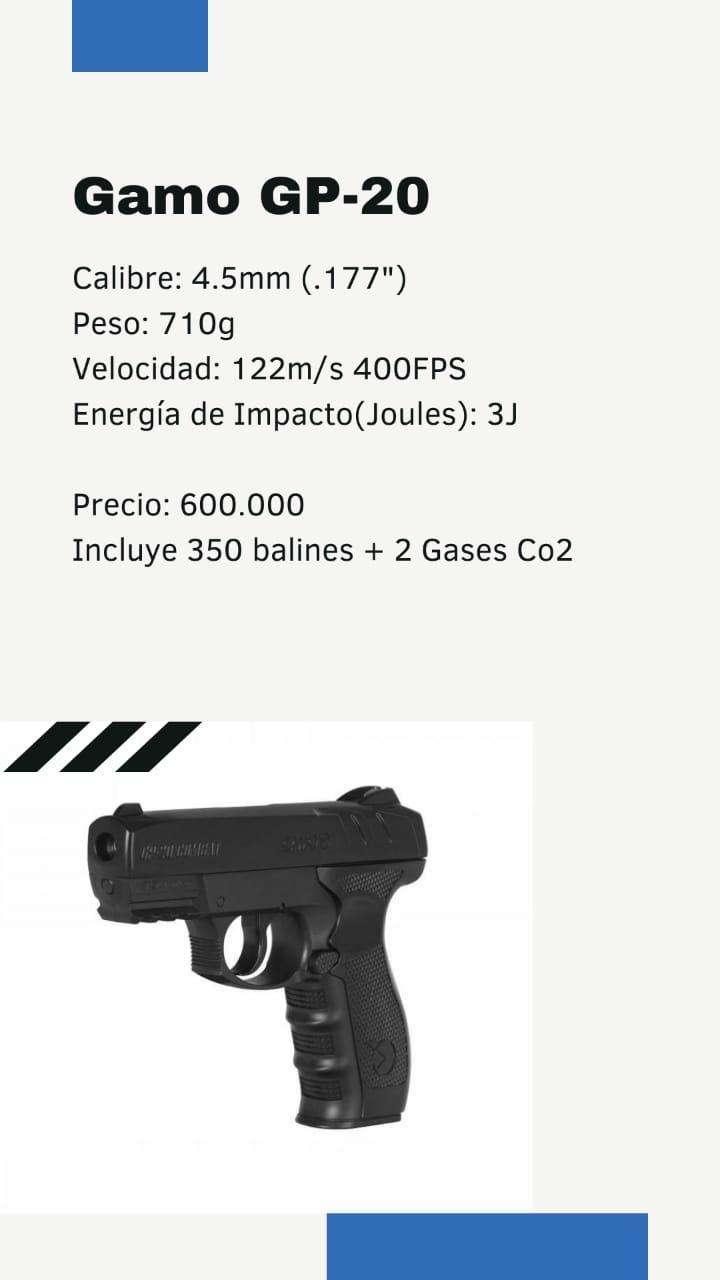 Pistola gamo co2 - 0