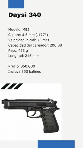 Pistola a resorte