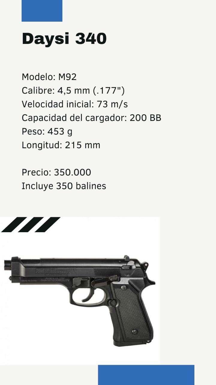 Pistola a resorte - 0