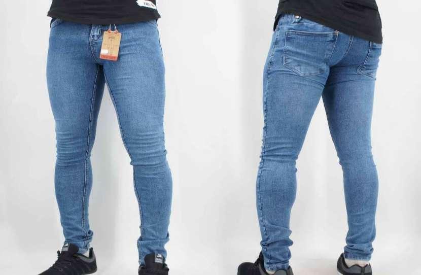 Jeans elastizado talle 36 al 46 - 0