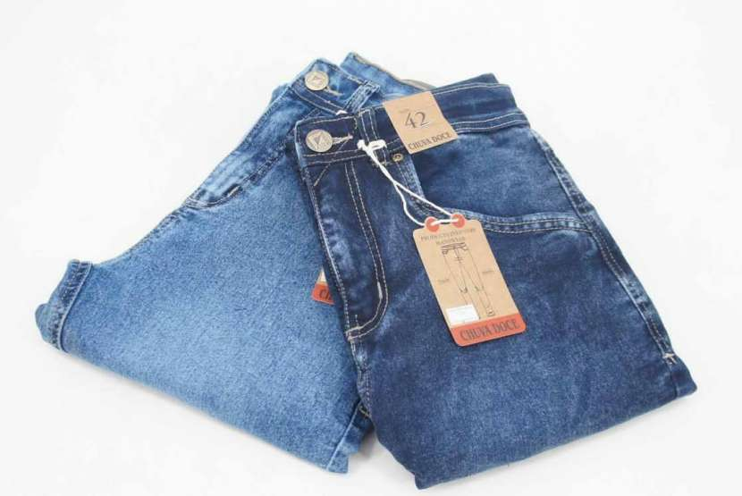 Jeans elastizado talle 36 al 46 - 1