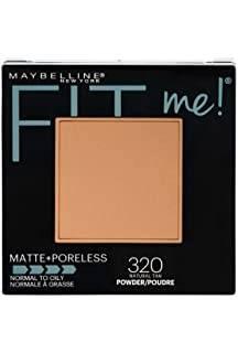 Polvo Matte + Poreless Fit Me! Maybelline