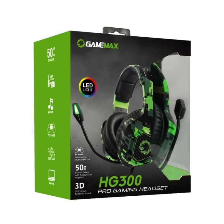 Auricular para juego GameMax HG300 para PS4 Xbox One PC - 0