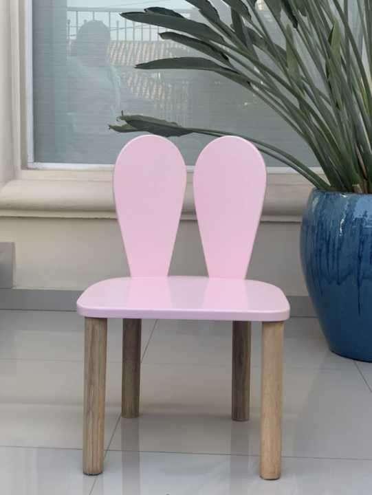 Mesita con 4 sillas de reno - 5