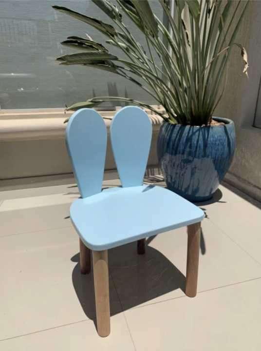 Mesita con 4 sillas de reno - 1