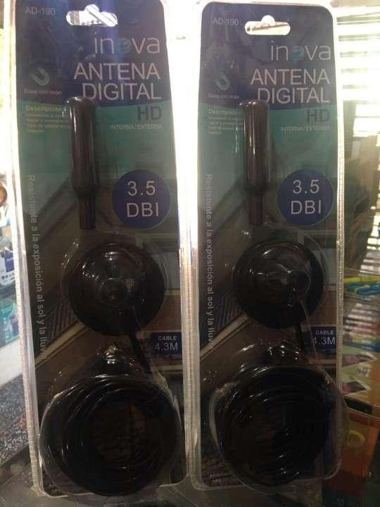 Antena digital para canales nacionales full HD - 0
