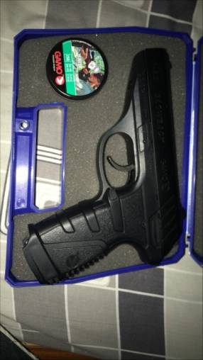 Pistoladw co2 gamo p25 blowback con retroceso