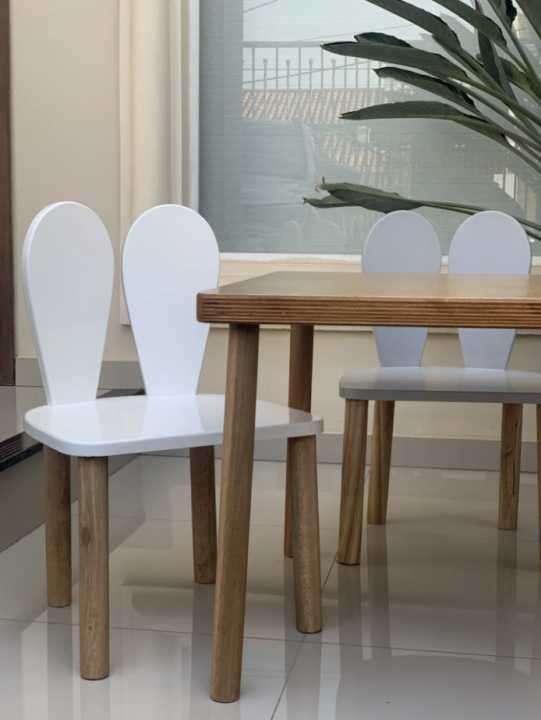 Mesita con 4 sillas de reno - 2