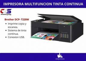 Impresora Brother DCP-T220W multifunción tinta continua