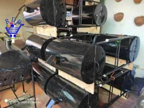 Parrilla tambor medida 60x40 cm