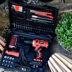 Kit de herramientas taladro Nappo NHK-041