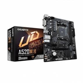Motherboard Gigabyte AM4 A520M H 1.0 S/R/HDMI/DVI/M2/DD4/usb3.2/RGB/M