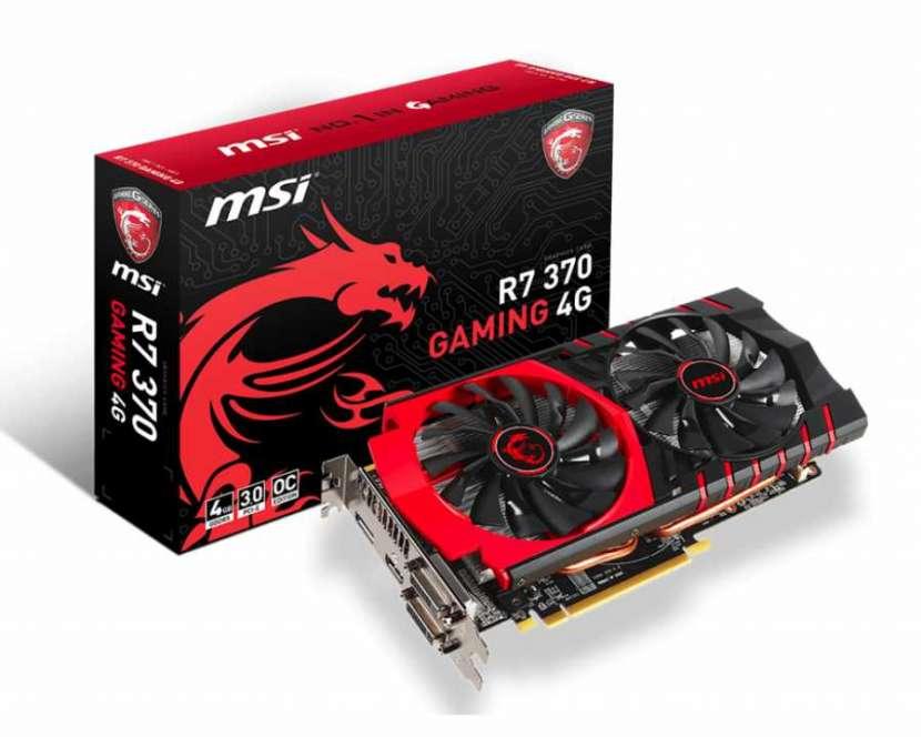 MSI R7 370 Gaming 4GB DDR5 - 0