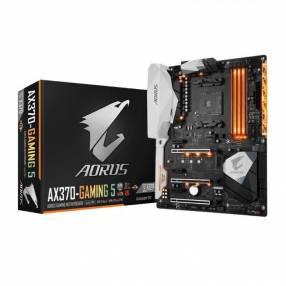 Motherboard Gigabyte AM4 AX370 gaming 5 Aorus S/2R/HDMI/M2/DD4/ATX/RG
