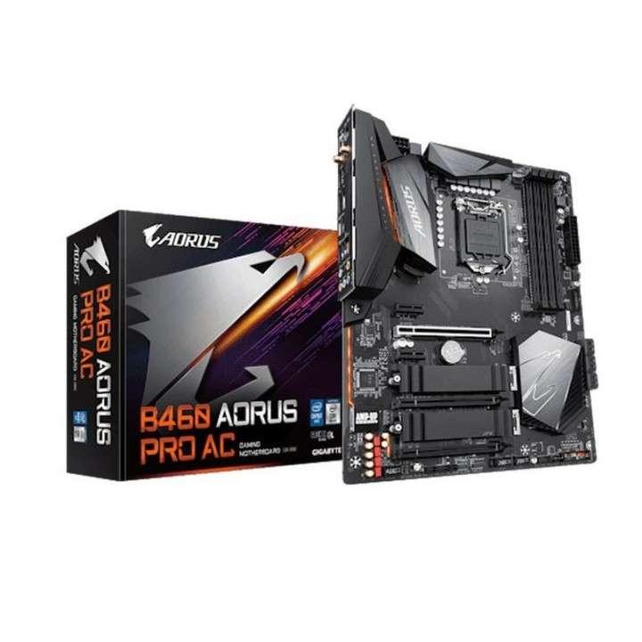 Motherboard Gigabyte 1200 B460 Aorus Pro AC S/R/HDMI/DP/wifi/2M2/DD4/ - 0