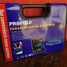 Atornillador a batería recargable Profield