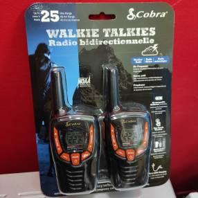 Radio walkie recargable Cobra