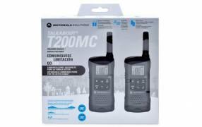 Radio walkie talkie recargable Motorola T-200cm