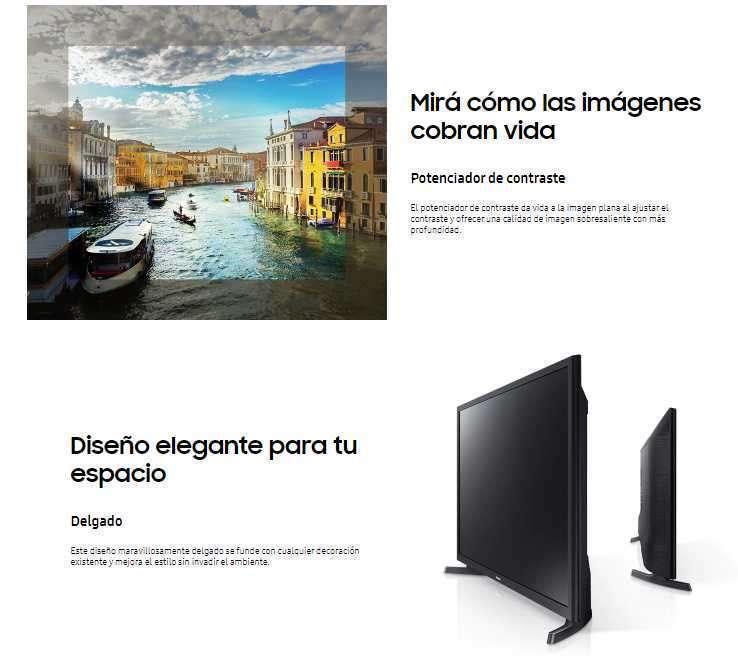 Smart tv Samsung 32 pulgadas T4300 HD - 2