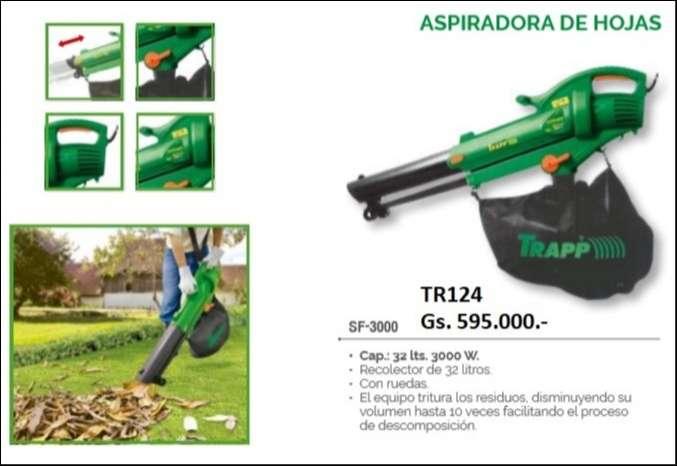 Aspiradora de hojas Trapp - 0