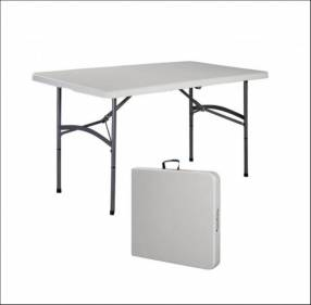 Mesa plegable maletín 122 cm