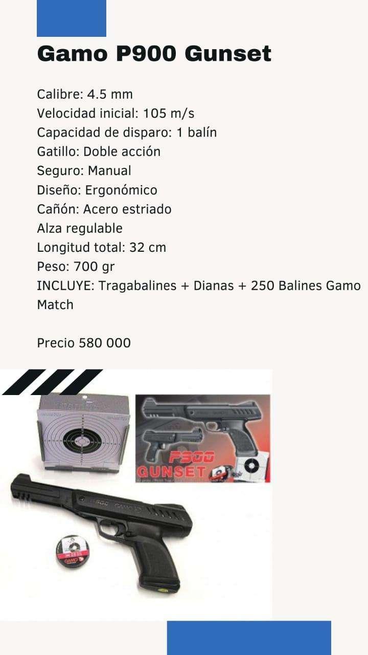 Pistola Gamo de aire comprimido - 0