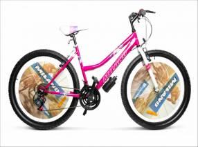 Bicicleta Milano Fucsia aro 26