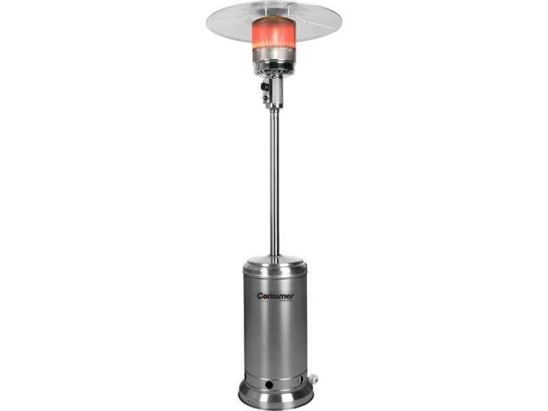 Calentador estufa a gas para exterior consumer - 0