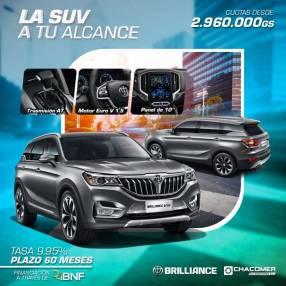Brilliance V6 0km 2021