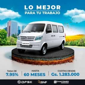 DFSK mini bus 0km 2021