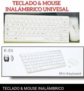 Teclado y mouse universal