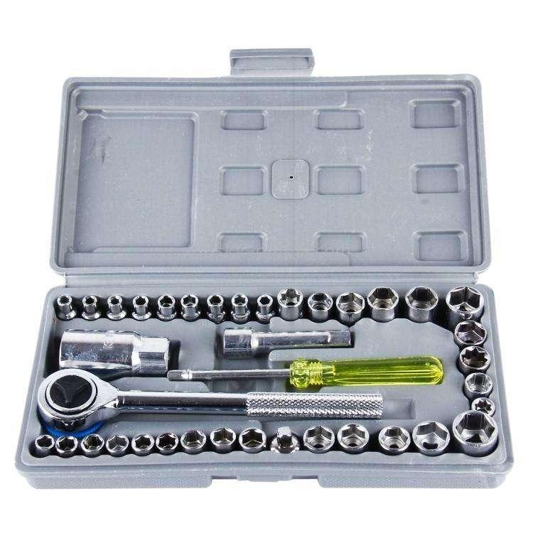 Kit 40 piezas de herramientas para moto ️ - 0