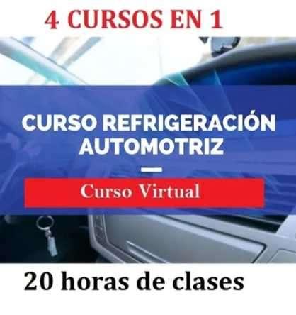 Curso refrigeración automotriz Educat - 0