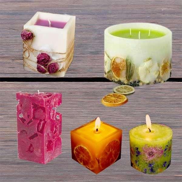 Curso para elaborar velas - 5