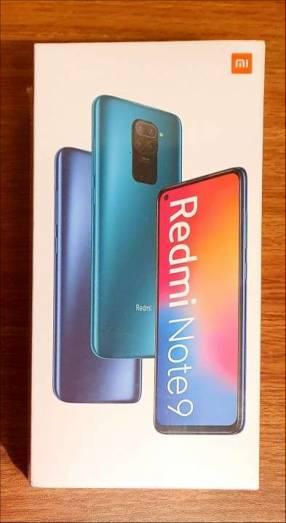 Redmi Note 9 de 128gb nuevos, sellados!