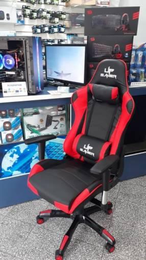 Silla gamer UP gamer 0917 negro rojo
