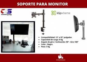 Soporte Klip Xtreme para un monitor de 13