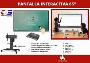 Pantalla táctil interactiva 65 pulgadas ViewSonic