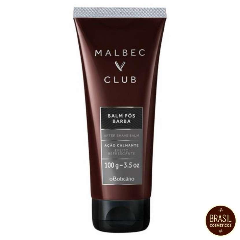 Oboticario Malbec Club balm pos barba - 0