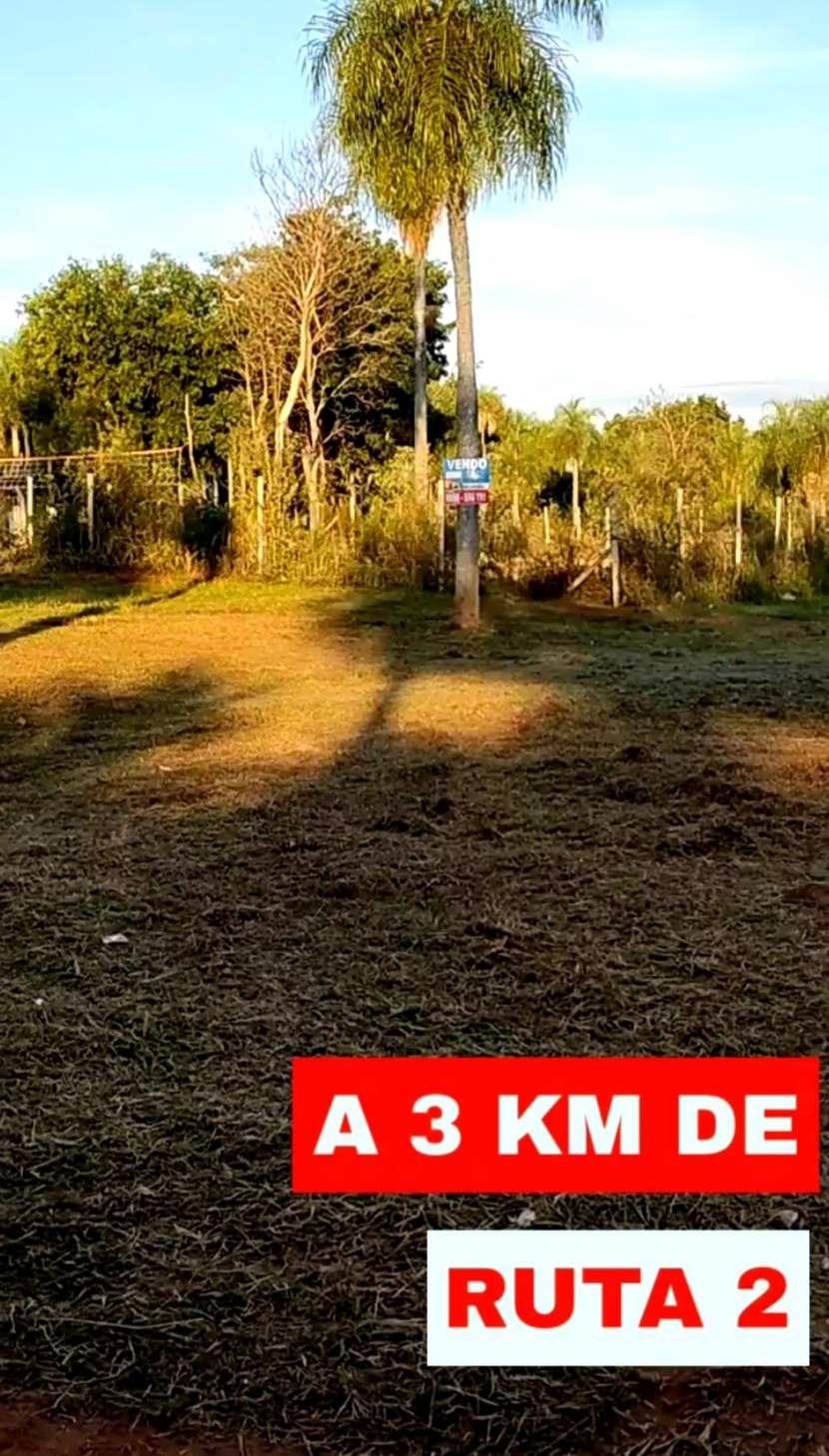 Terreno 30x12 en Pindolo Areguá - 3