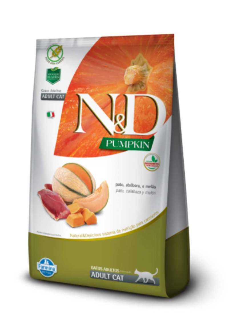 NyD Pumpkin feline salmón y naranja 1.5 kilos - 0
