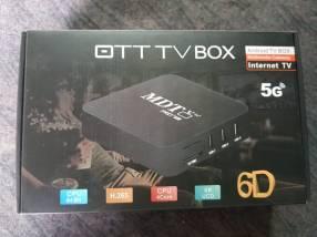 Tv box. convierte tu tv normal en smart tv.