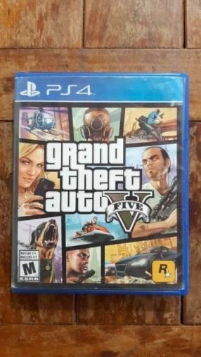 GTA V para PS4