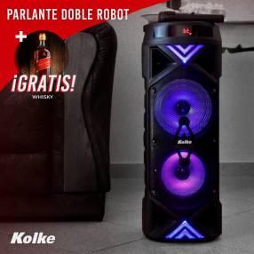 Parlante doble robot Kolke