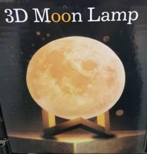 Lámpara Luna 3D