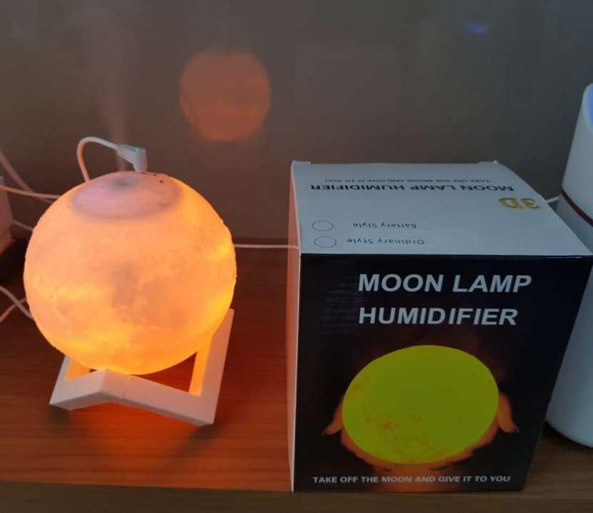 Humidificador luna iluminada - 0